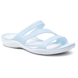Crocs Шльопанці Crocs Swiftwater Sandal W 203998 Mineral Blue