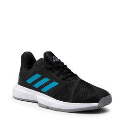 adidas Взуття adidas CourtJam Bounce M H68893 Cblack/Sonaqu/Ftwwht