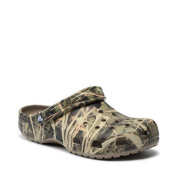 Crocs Шльопанці Crocs Classic Realtree 12132 Khaki