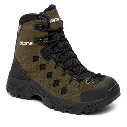 Alpina Turistiniai batai Alpina Simbia 623R-7 Green/Black