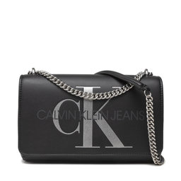 Calvin Klein Jeans Rankinė Calvin Klein Jeans Sculpted Conv E/W Flap Silver K60K608379 BDS