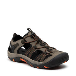 Bergson Босоніжки Bergson Sobat Hiking Sandals Khaki