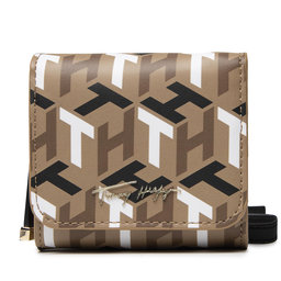 Tommy Hilfiger Rankinės Tommy Hilfiger Iconic Tommy Mini Wallet Mono AW0AW10846 GUV
