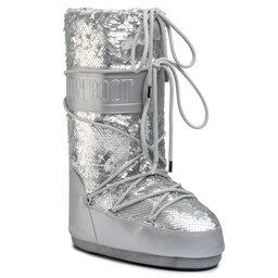 Moon Boot Снігоходи Moon Boot Classic Disco Plus 140253001 Silver