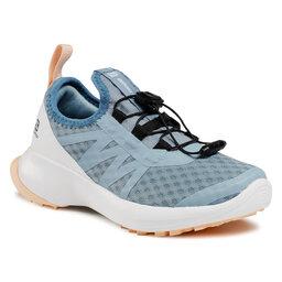 Salomon Взуття Salomon Sense Flow J 413033 09 W0 Ashley Blue/White/Almond Cream