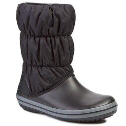Crocs Снігоходи Crocs Winter Puff 14614 Black/Charcoal