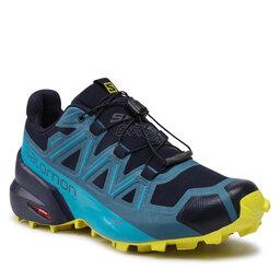 Salomon Взуття Salomon Speedcross 5 Gtx GORE-TEX 414615 27 V0 Night Sky/Barrier Reef/Evening Primrose