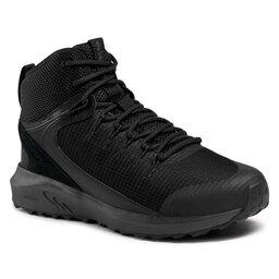 Columbia Трекінгові черевики Columbia Trailstorm Mid Waterproof BM0155 Black/Dark Grey 010