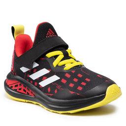 adidas Взуття adidas FortaRun Superhero C H67853 Core Black/Cloud White/Vivid Red