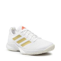 adidas Batai adidas Court Control W H00942 Ftwwht/Goldmt/Solred