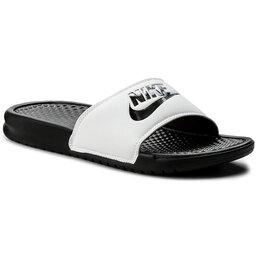 Nike Šlepetės Nike Benassi Jdi 343880 100 White/Black/Black
