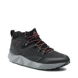 Columbia Трекінгові черевики Columbia Facet 30 Outdry 1945591010 Black/Red Jasper 010