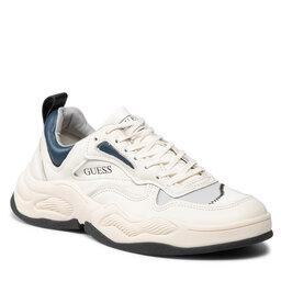 Guess Laisvalaikio batai Guess FMBAS8 LEA12 WHBLU