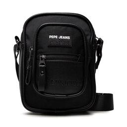 Pepe Jeans Плоска сумка Pepe Jeans Andy Shoulder Bag PM030646 Black 999