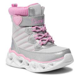 Skechers Чоботи Skechers Heart Chaser 20287N/GYPK Gray/Pink