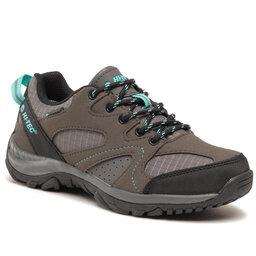 Hi-Tec Трекінгові черевики Hi-Tec Harito Wp Wo's AVSSS21-HT-BD-01 Dark Grey/Black/Turquoise