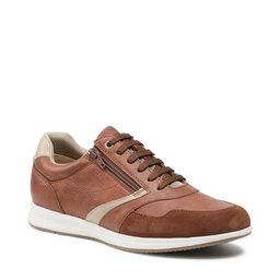 Geox Laisvalaikio batai Geox U Avery B U15H5B 000PT C6000 Brown