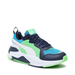 Puma Снікерcи Puma X-Ray Jr 372920 08 Blue/White/Peacoat/Green