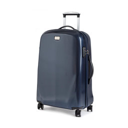 Wittchen Середня тверда валіза Wittchen 56-3P-572-90 Cиній
