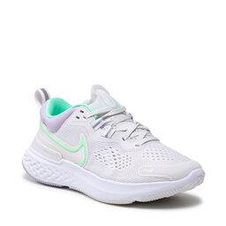 Nike Взуття Nike React Miler 2 CW7136 002 Platinum Tint/Green Glow/White