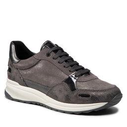 Geox Laisvalaikio batai Geox D Airell A D162SA 0PZVI C9002 Dk Grey