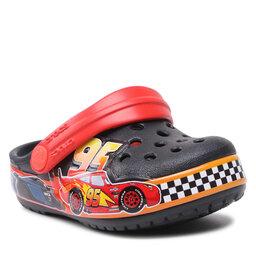 Crocs Šlepetės Crocs Fl Dosney & Pixar Cars Band Clog Kids 206472 Black