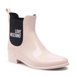 LOVE MOSCHINO Guminiai batai LOVE MOSCHINO JA21173G1DIR3601 Cipria