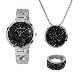 Jacques Lemans Набір подарунковий Jacques Lemans Jewellery Set 1-2035G-SET56 Silver
