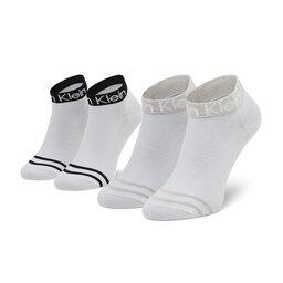 Calvin Klein Набір з 2 пар низьких жіночих шкарпеток Calvin Klein 701218775 r.OS White 002