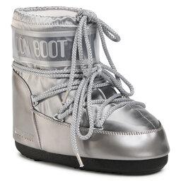 Moon Boot Снігоходи Moon Boot Classic Low Glance 14093500002 Silver