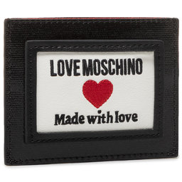 LOVE MOSCHINO Чохол для кредиток LOVE MOSCHINO JC5606PP1CLC100A Nero