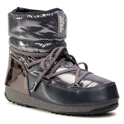 Moon Boot Снігоходи Moon Boot Low St. Moritz Wp 24009900002 Metal Gun