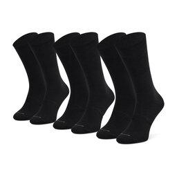 Gino Rossi Набір 3 пар високих чоловічих шкарпеток Gino Rossi SS21-GRM011 r. OS Чорний