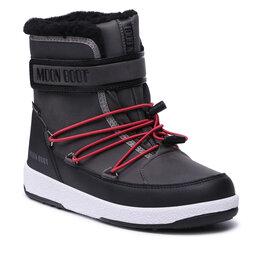 Moon Boot Sniego batai Moon Boot Jr Boy Boot Wp 34051600002 D Black/Castlerock