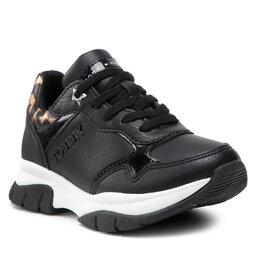Tommy Hilfiger Laisvalaikio batai Tommy Hilfiger Low Cut Lace-Up Sneaker T3A4-31173-1242 Black 999