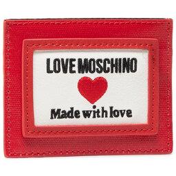 LOVE MOSCHINO Чохол для кредиток LOVE MOSCHINO JC5606PP1CLC150A Rosso