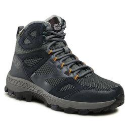 Jack Wolfskin Трекінгові черевики Jack Wolfskin Downhill Texapore Mid W 4044141 Dark Blue/Grey