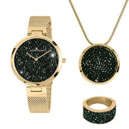 Jacques Lemans Набір подарунковий Jacques Lemans Jewellery Set 1-2035L-SET56 Gold