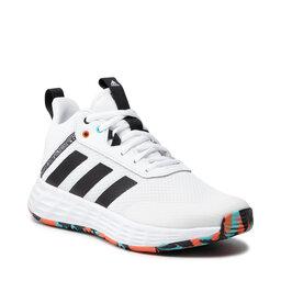 adidas Взуття adidas Ownthegame 2.0 K H01556 Cloud White/Core Black/True Orange