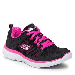 Skechers Batai Skechers New World 12997/BKHP Black/Hot Pink