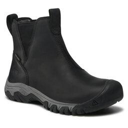 Keen Трекінгові черевики Keen Greta Chelsea 1025526 Black/Steel Grey