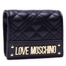 LOVE MOSCHINO Мале жіноче портмоне LOVE MOSCHINO JC5628PP0CKA0000 Nero