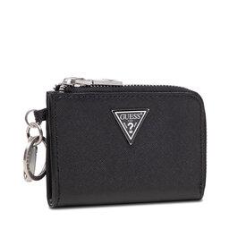 Guess Kreditinių kortelių dėklas Guess Certosa Keyrings RMCRTS P1302 BLACK