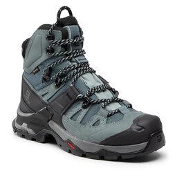 Salomon Turistiniai batai Salomon Quest 4 Gtx W GORE-TEX 413870 Slate/Trooper/opal Blue