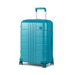 Wittchen Середня тверда валіза Wittchen 56-3P-822-95 Голубий