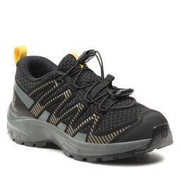 Salomon Трекінгові черевики Salomon Xa Pro V8 J 414361 09 W0 Black/Urban Chic/Sulphur