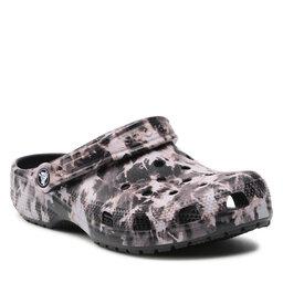 Crocs Шльопанці Crocs Classic Beach Dye Clog 207326 Black