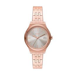 DKNY Годинник DKNY Parsons NY2950 Rose Gold/Rose Gold