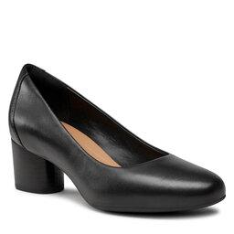 Clarks Pusbačiai Clarks Un Cosmo Dress 261517164 Black Leather