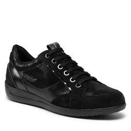 Geox Laisvalaikio batai Geox D Myria B D1668B 022PZ C9999 Black
